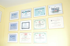 An overview of some of my Awards