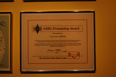 ARRL Friendship Award